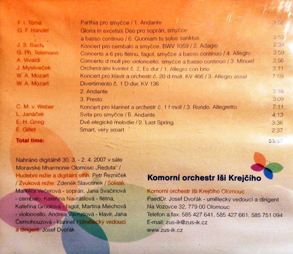 CD Komorní orchestr II.