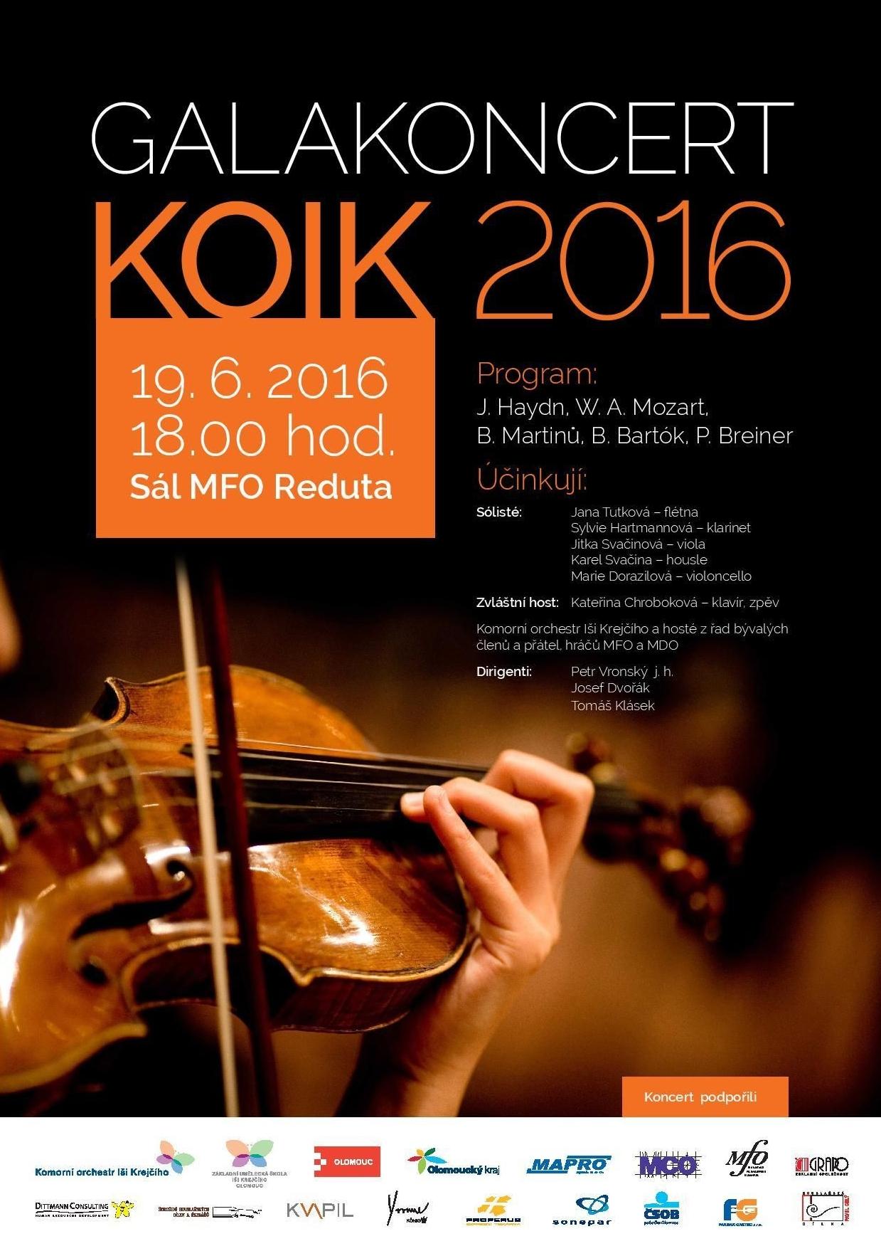 Galakoncert KOIK 2016
